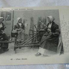 Postales: POSTAL FRANCESA ,45.L·BON MONDE AÑO 1954 , ESCRITA CIRCULADA. Lote 114471599