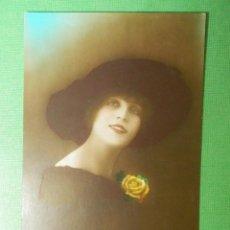 Postales: POSTAL - ROMÁNTICA - DESEB - PARIS - ESCRITA EN 1919. Lote 119243967