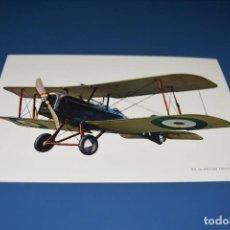 Postales: POSTAL SIN CIRCULAR - DIBUJO AVION - S.E 5A BRITISH FIGHTER 1917 - EDITA CYZ 7035. Lote 121264607