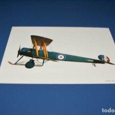 Postales: POSTAL SIN CIRCULAR - DIBUJO AVION - AVRO 504K AÑO 1915 - EDITA CYZ 6902. Lote 121265803