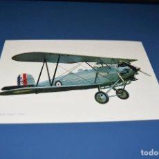 Postales: POSTAL SIN CIRCULAR - DIBUJO AVION - HAWER TOMTIT 1929 - EDITA CYZ 7035. Lote 121266419