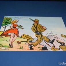 Postales: POSTAL CON SELLO ESPECIAL - DIBUJO MILITAR - REGIMIENTO ARTILLERIA 26 VALLADOLID - VER FOTOS. Lote 121267023