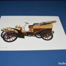 Postales: POSTAL SIN CIRCULAR - DIBUJO COCHE ANTIGUO - FIAT 16/24 H.P 1903 - EDITA CYZ 6840. Lote 121270063