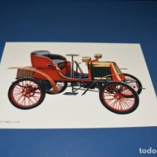Postales: POSTAL SIN CIRCULAR - DIBUJO COCHE ANTIGUO - RENAULT 1899 3.1/2 H.P - EDITA CYZ 6844. Lote 121270791