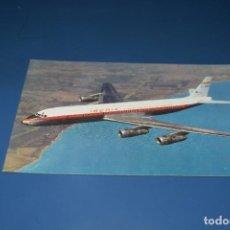 Postales: POSTAL SIN CIRCULAR - IBERIA - DOUGLAS DC-8 TURBOFAN. Lote 121941691