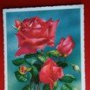 Postales: BONITA POSTAL ALEMANIA ROSAS FLORES. Lote 135019507