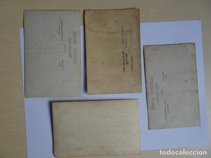 Postales: LOTE DE 4 POSTALES ANTIGUAS , MUJERES, TRAJES DE ÉPOCA, VER FOTOS - Foto 6 - 135183966