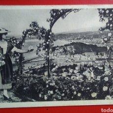 Postales: POSTAL FRANCIA NIZA COSTA AZUL ENTRE LAS FLORES. Lote 137937673