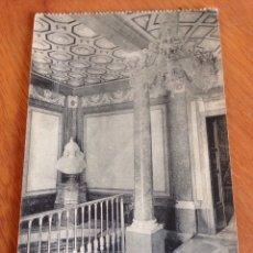 Postales: ANTIGUA POSTAL DE ARANJUEZ : REAL CASA DEL LABRADOR, ESCALERA PRINCIPAL. Lote 138644380