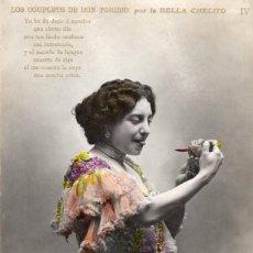 Postales: CUPLETISTAS. LUIS BARTRINA. BELLA CHELITO. Lote 141321214