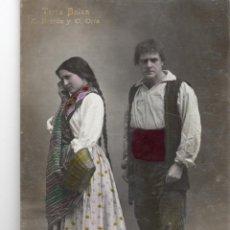 Postales: TEATRE. LUIS BARTRINA. E. BORRÁS I C. ORIA. Lote 141322194
