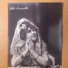 Postales: POSTAL - CUPLETISTA JULIA ESMERALDA CON MANTILLA AÑOS 10´S - E R MADRID - S 864/1 - SIN CIRCULAR. Lote 141613702