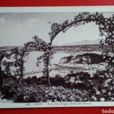 Postales: BONITA POSTAL ANTIGUA FRANCIA NIZA NICE ENTRE LAS FLORES. Lote 142199442