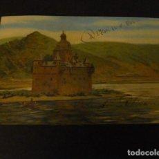 Postales: CASTILLO JUNTO AL MAR POSTAL. Lote 148009374