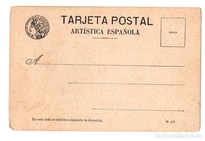Postales: TARJETA POSTAL EL ULTIMO FIGURIN. PAREJA MODERNISTA. Nº 22 - Foto 2 - 148026078