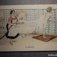 Postales: POSTAL - ERÓTICA - LA DOUCHE - EDICIÓN FRANCESA - SIN CIRCULAR . Lote 150503978