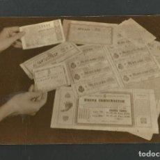 Postales: POSTAL SIN CIRCULAR - LOTERIA NACIONAL SERIE C Nº9 - EDITA F.N.M.T. Lote 154581306