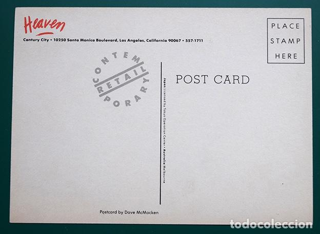 Postales: Postal de Heaven de Los Ángeles, diseño Dave McMacken · Novelty store Heaven, Century City - Foto 2 - 162162782