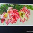 Postales: ROSAS EN RELIEVE POSTAL HACIA 1910. Lote 164750498