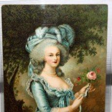 Postales: POSTAL PASTA DENTIFRICA PEBECO-MARIE ANTOINETTE. E. LOUISE VIGEÉ-LEBRUN. SIN CIRCULAR. Lote 167112516