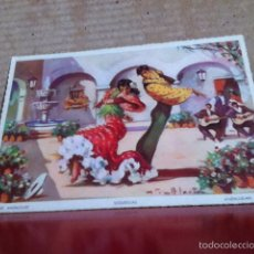 Postales: LOTE 10 POSTALES ESCENAS ANDALUZAS. ( COMPLETA ) LAITENA. Lote 171734067