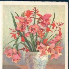Postales: POSTAL JARRON CON FLORES - ILUSTRADOR ANTONIO MULLER - M K Z 9194. Lote 173067624