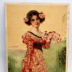 Postales: ANTIGUA POSTAL- MEISSNER&BUCH - ART NOVEAU - SIN CIRCULAR. Lote 173193275