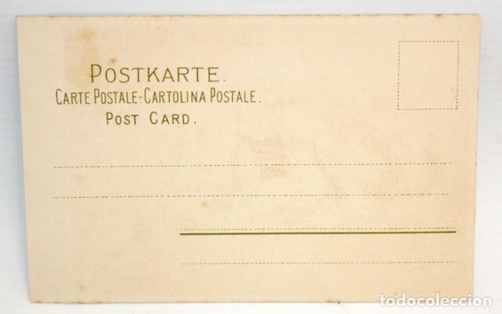 Postales: ANTIGUA POSTAL- MEISSNER&BUCH - ART NOVEAU - SIN CIRCULAR - Foto 2 - 173193275