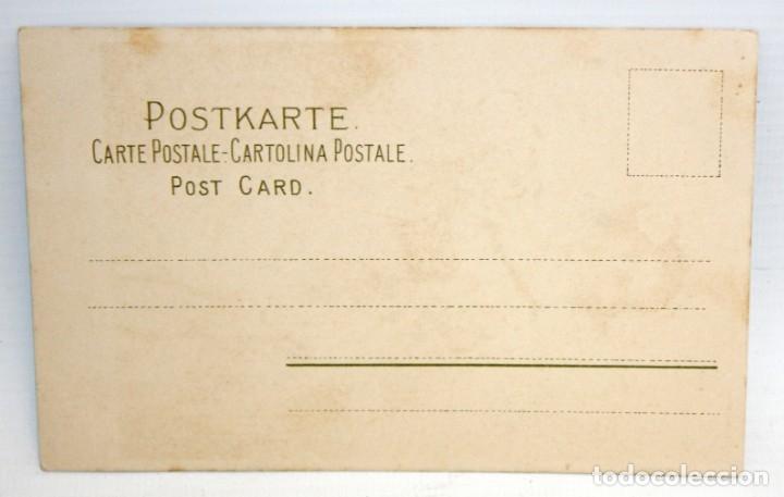 Postales: POSTAL ILUSTRADA - MEISSNER&BUCH - LEIPZIG - CHICA CON FLORES - SIN CIRCULAR - Foto 2 - 173193354