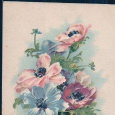 Postales: POSTAL JARRON DE FLORES - ANEMONES VARIEES - SERIE C - CIRCULADA. Lote 175115633