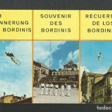 Postales: POSTAL CIRCULADA - RECUERDO DE LOS BORDINI - EDITA POSTLES HERMANOS GALIANA. Lote 179054505