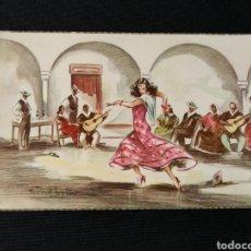 Postales: TARJETA POSTAL FOLKLORE ESPAÑOL ALEGRÍAS CYZ 540. Lote 182006285