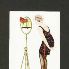 Postales: POSTAL ILUSTRADA: MUJER ART DECO (ILUSTR.BALDRICH). Lote 182844070