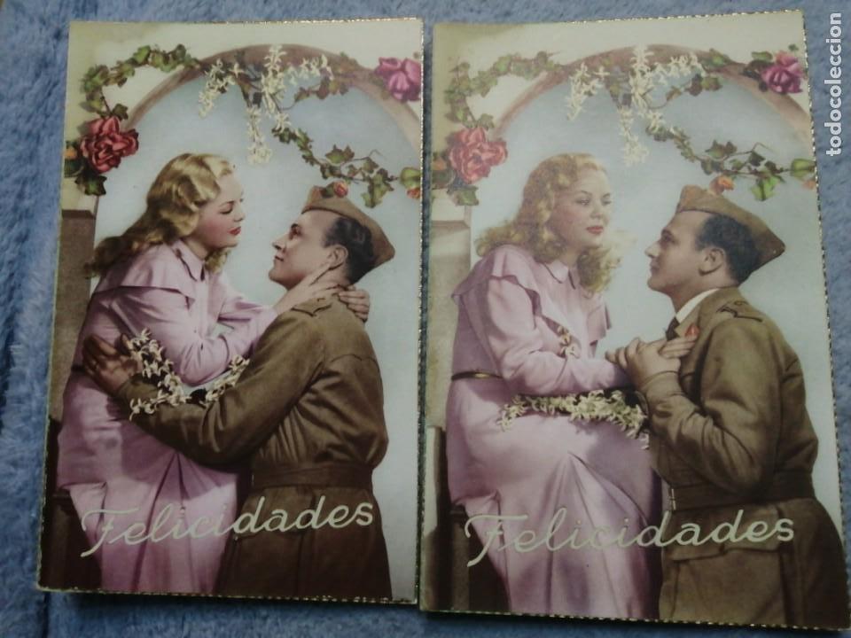 POSTALES ANTIGUAS ROMANTICSS (Postales - Postales Temáticas - Estilo)