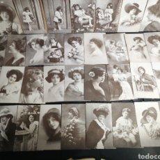 Postales: LOTE DE 87 CROMOS MINI POSTALES CHOCOLATES AMATLLER. Lote 183825501