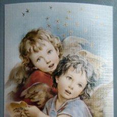 Postales: POSTAL NIÑOS ÁNGELES / 10 X 15 CM. Lote 186133396