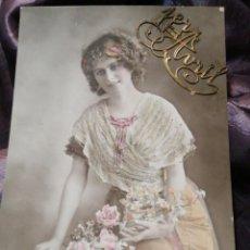 Postales: CPA POSTAL FRANCESA 1 DE ABRIL EN RELIEVE . Lote 186169208