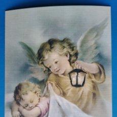 Postales: POSTAL NIÑOS ÁNGELES / 10 X 15 CM. Lote 187304083