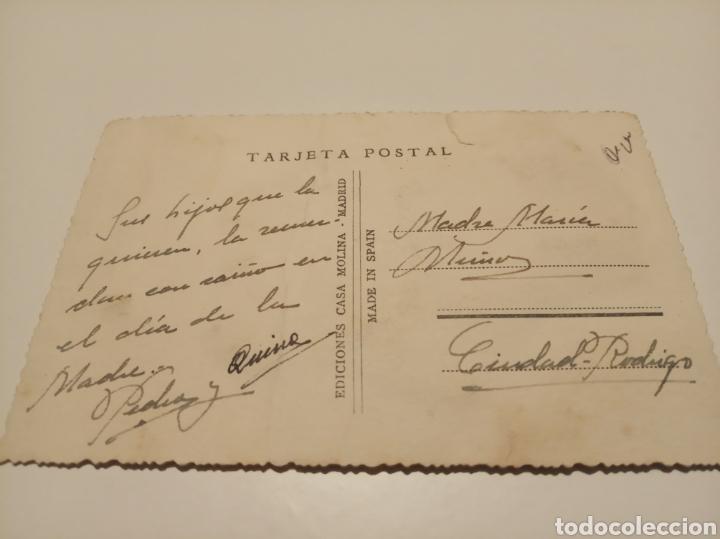 Postales: Alicante postal antigua bordada - Foto 2 - 191413677