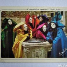 Postales: POSTAL ITALIA VENECIA CARNAVALES VENEZIA / 12 X 17 CM. Lote 191468197