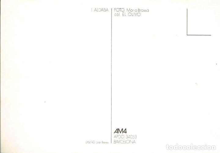 Postales: Lote 20 postales artísticas m. brossa. am4. barcelona. sin circular - Foto 22 - 191839225