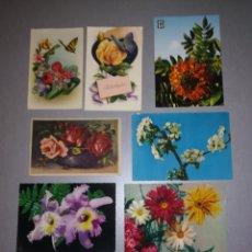 Postales: POSTAL FLORES. Lote 194129246