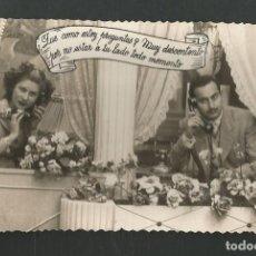 Postales: POSTAL CIRCULADA ROMANTICA EDITA D 1671. Lote 195188596