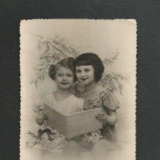 Postales: POSTAL CIRCULADA ROMANTICA SIN EDITORIAL. Lote 195188625
