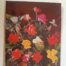 Cartes Postales: BONITA POSTAL. FLORES. DE LAS DE 3D. ESCRITA. Lote 197515952
