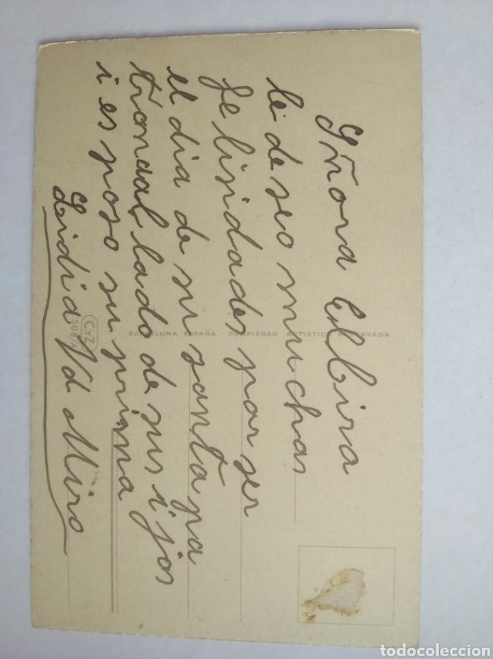 Postales: Postal flores ilustra c vives escrita c y z 508/a - Foto 2 - 199715916
