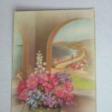 Postales: POSTAL FLORES ILUSTRA C VIVES ESCRITA C Y Z 508/A. Lote 199715916