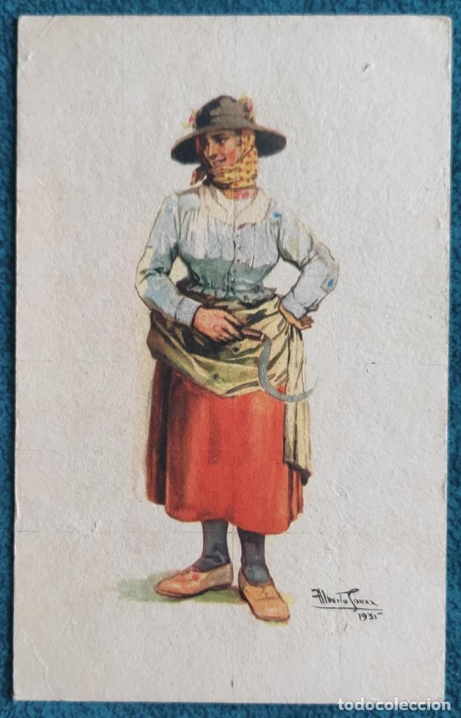 POSTAL DE PORTUGAL. COSTUMES (Postales - Postales Temáticas - Estilo)