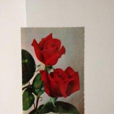 Postales: POSTAL Nº 832 - ROSAS ROJAS - ED. LECAMI 19??. Lote 210229012