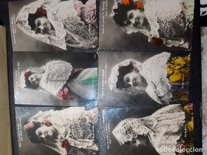 Postales: Postales Antiguas 1906 - Foto 4 - 219403162